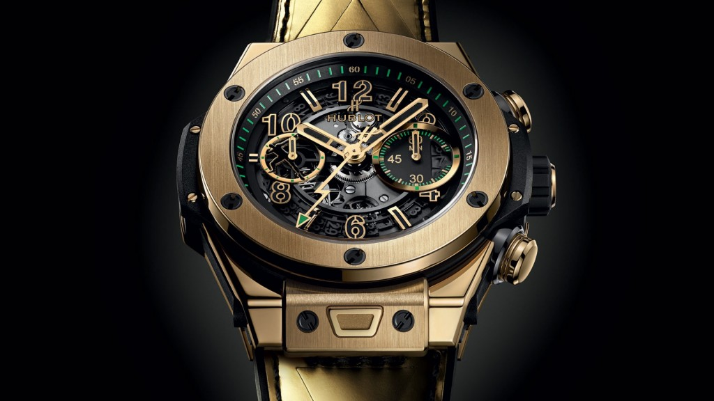 Hublot Big Bang UNICO Usain Bolt Replica Watches With Gold Cases