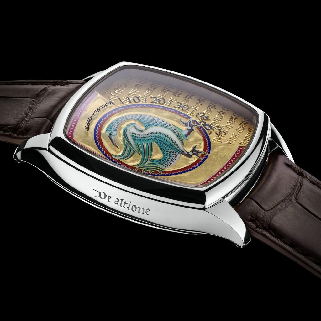 Replica Vacheron Constantin Métiers D'Art Savoir Enluminés Watches With Brown Straps