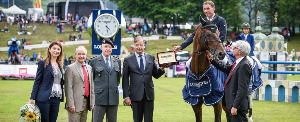 "Hans-Dieter Dreher Won the ""Longines Grand Prix der Schweiz"" in St. Gallen"