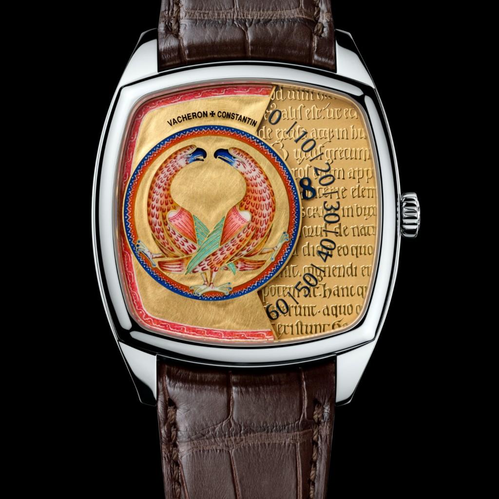 White Gold Cases Vacheron Constantin Métiers D'Art Savoir Enluminés Fake Watches