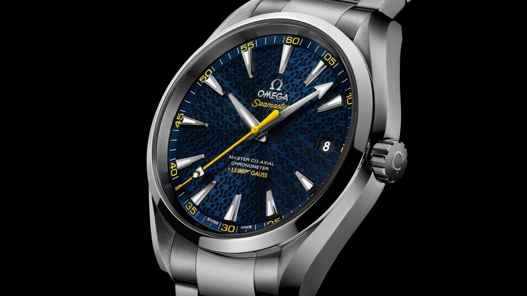 Steel Bezels Copy Omega Seamaster Watches