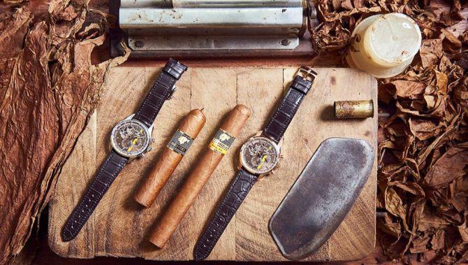 UK Zenith Replica Watches El Primero Chronograph Cohiba Edition