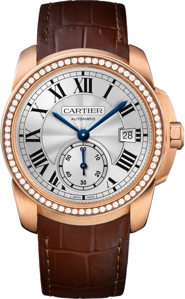 Blue Hands Fake Calibre De Cartier Watches