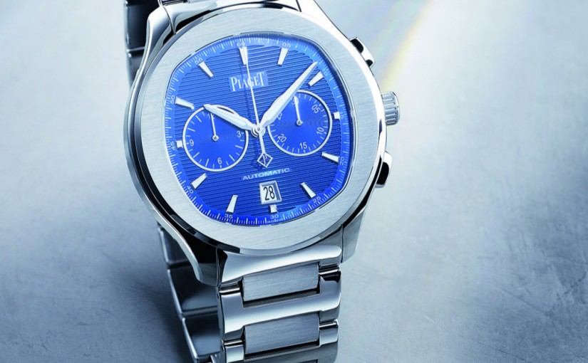 Replica Piaget Polo S Watches With Blue Dials UK—Men's Watches With Casual Elegance