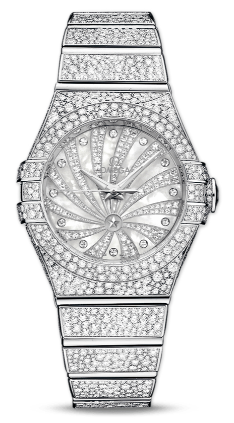 Diamonds Indexes Replica Omega Constellation Watches