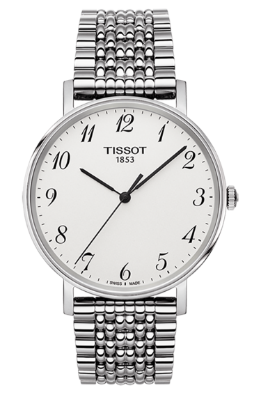 Replica Tissot Everytime Quartz Watches With Steel Bracelets
