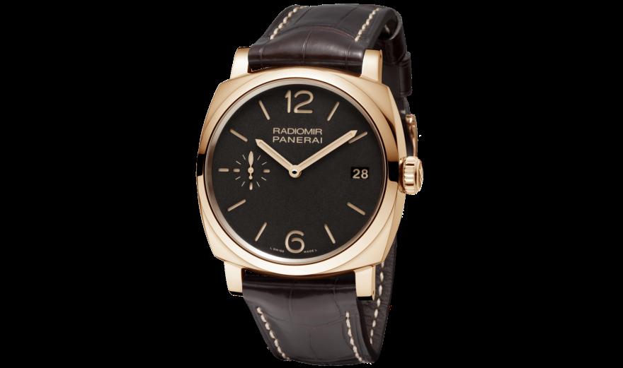 Red Gold Hands Panerai Radiomir 1940 Fake Watches