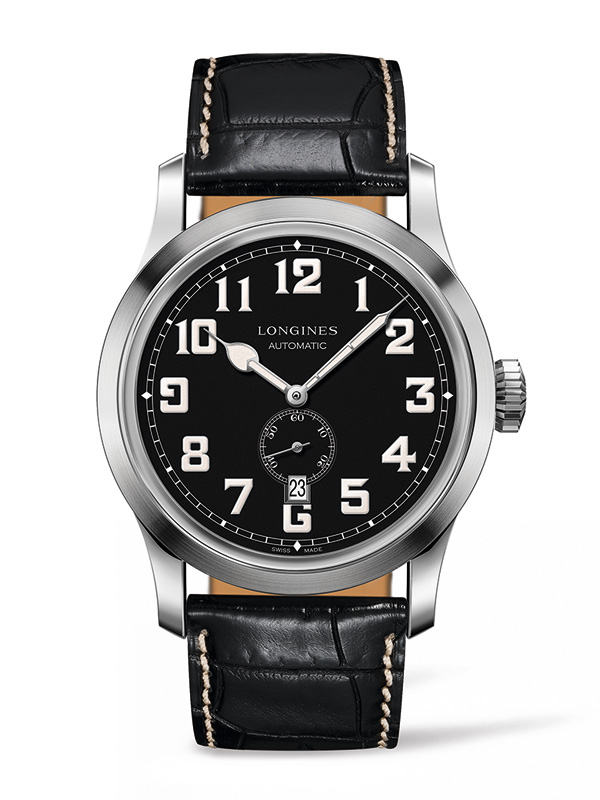 Longines Heritage Military Replica Watches With Black Dials