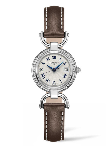 Longines Equestrain Replica Watches With Blue Steel Hands