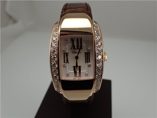 Chopard La Strada Replica Ladies' Watches UK With 18K Rose Gold Cases Made In Switzerland