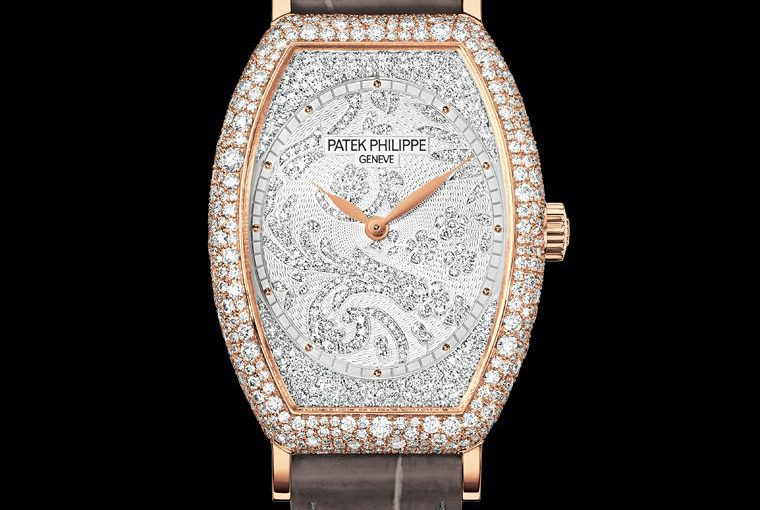 UK Luxury And Precious Patek Philippe Gondolo Replica Ladies' Watches With Rose Gold Cases