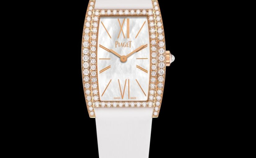 Piaget Limelight Tonneau-Shaped Replica Elegant Watches With White Satin-Faced Straps UK