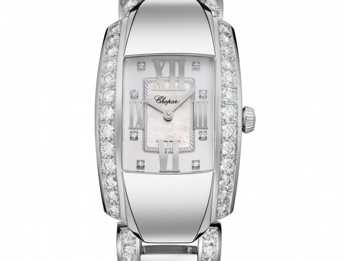 Chopard La Strada Replica Ladies' Watches UK With White Gold Cases For Hot Sale