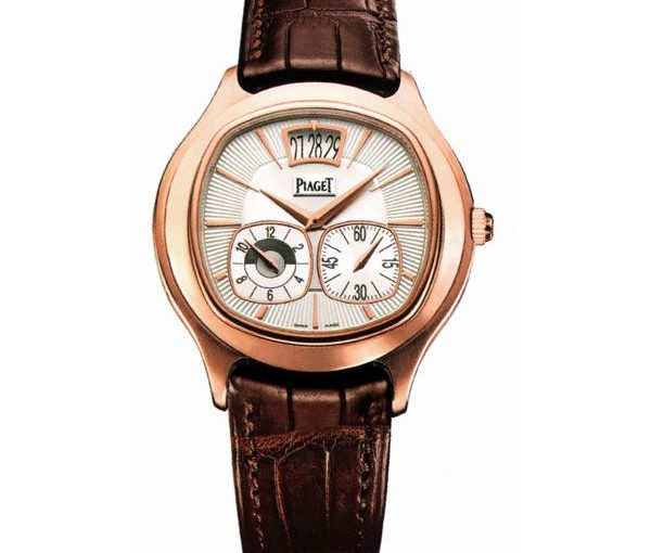 Piaget Black Tie Emperador Replica Classic Watches UK With Pillow-Shaped Rose Gold Cases For Decent Men