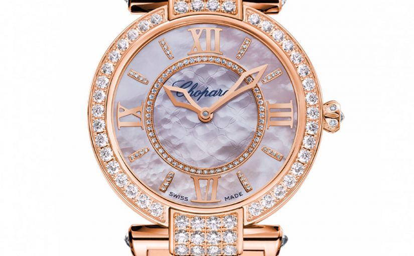 UK Pink Mother-Of-Pearl Dials For Chopard Imperiale Knockoff Watches Of Top Attention