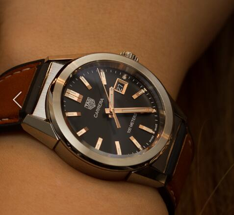 A Best Christmas Gift: UK TAG Heuer Carrera Knockoff Watches With Brown Leather Straps