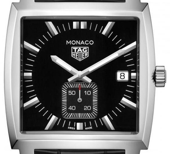 Noble And Unique Square Steel Cases TAG Heuer Monaco Swiss Fake Watches UK Of Top Quality