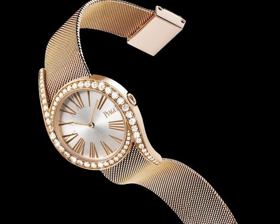 Extremely Luxury And Precious Piaget Limelight Replica Ladies' Watches UK With Diamond Decorations