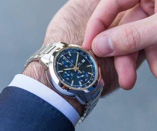 IWC Ingenieur Fake Swiss UK Watches With Delicate Blue Dials For Men's Recommendation