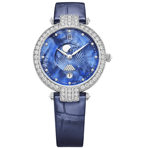Luxurious And Precious Harry Winston Premier Knockoff Watches UK With Diamond Decorations