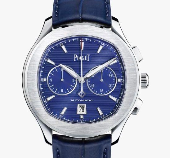 A Best Choice For Gentlemen: Piaget Polo S UK Watches Replica With Blue Leather Straps
