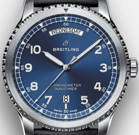 A Best Choice For Men: 41MM Breitling Navitimer Fake Watches UK With Unique And Gentle Blue Dials