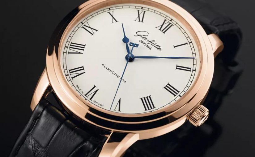 Elegant Glashütte Original Senator Knockoff Watches With Silver Dials For Hot Sale UK
