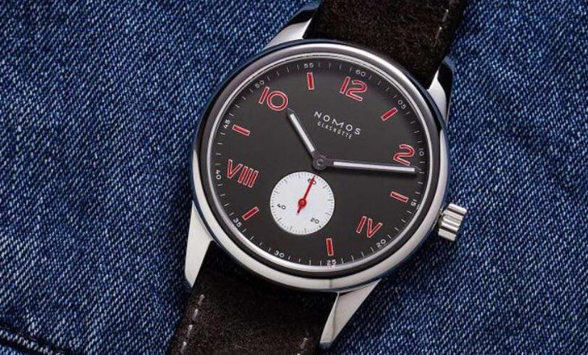 Replica Nomos UK Released New Club Campus Amsterdam Limited Edition With Black Electroplated Dial