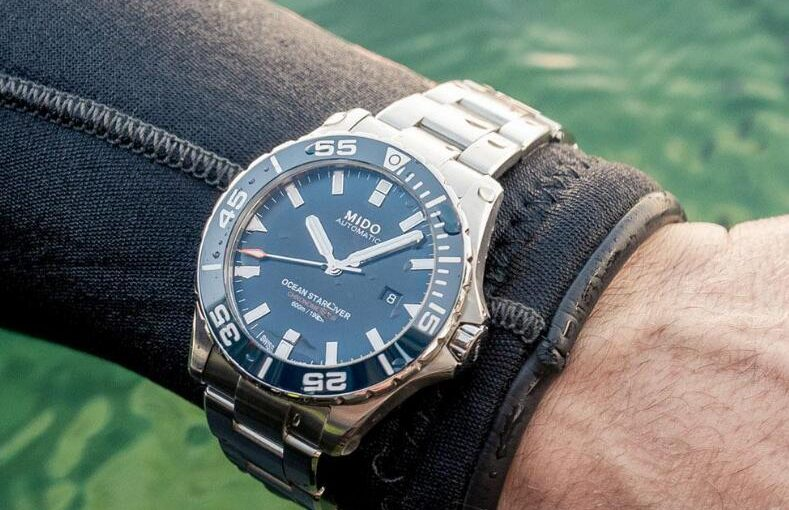 Review On The New Mido Ocean Star Diver 600 M Replica Watch UK With Blue Dial