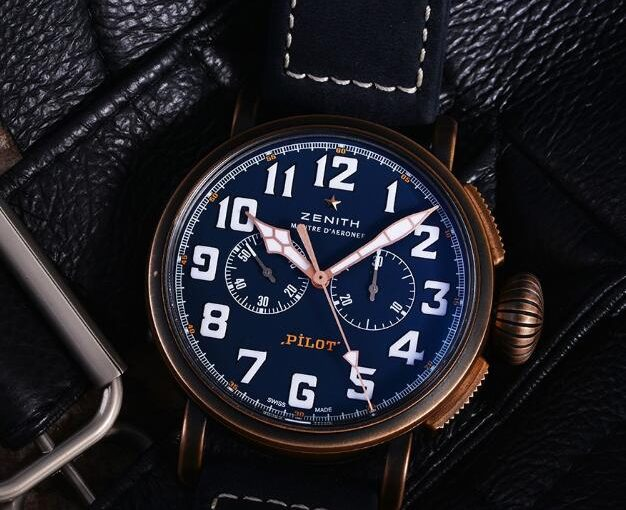Enjoy The Beautiful Pictures Of 45 MM UK Replica Zenith Pilot Type 20 Special Edition