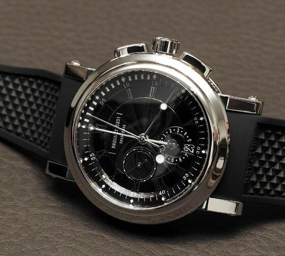 UK Breguet Marine Replica Watch 200th Anniversary Edition With Black Dial