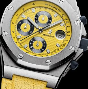 Top-selling reproduction watches are showy with yellow color.