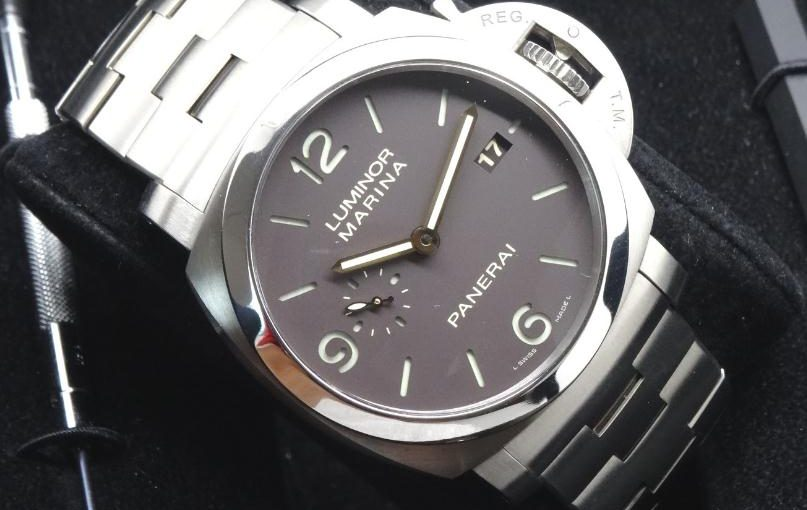 UK Reliable Fake Panerai Luminor 1950 PAM00352 Watches Made From Polished Titanium