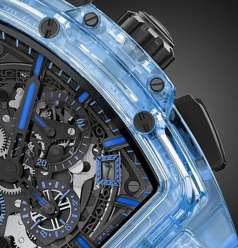 UK Special Fake Hublot Spirit Of Big Bang 641.JL.0190.RT Watches In Blue