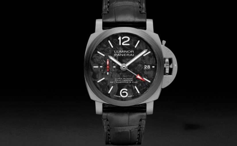 AAA Quality Fake Panerai Luminor Luna Rossa GMT-42MM(PAM01096) Lmited Edition UK For sale
