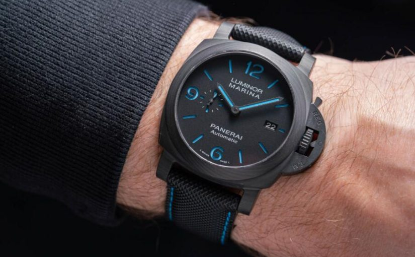Hands-On 1:1 Best Replica Panerai Luminor Marina Carbotech PAM1661 Watch UK