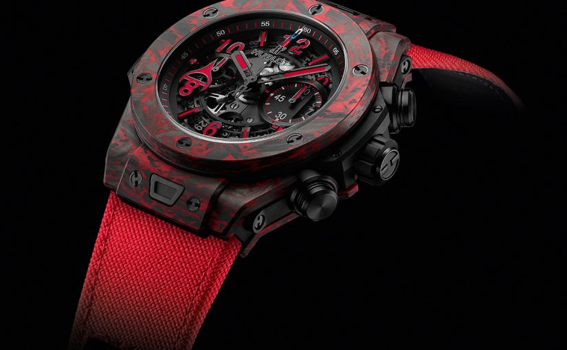 "UK Swiss Hublot Replica Honors the ""Great Eight"" with Big Bang Unico Red Carbon Alex Ovechkin"