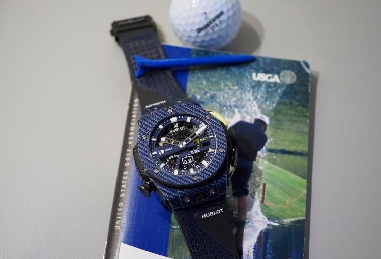 Insider: Swiss Made Fake Hublot Big Bang Unico Golf Blue UK. Keeping Track of Your Golfing Score has Never Been this Easy.